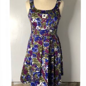 Donna Rico Floral Pleated Dress